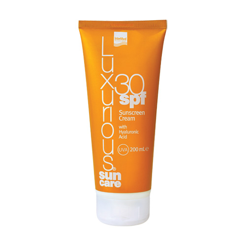 Luxurious Sunscreen Body Cream SPF30 με Υαλουρονικό Οξύ 200ml