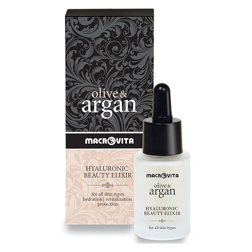 Macrovita Olive & Argan Hyaluronic Beauty Elixir 15ml (Ελιξήριο Ομορφιάς)