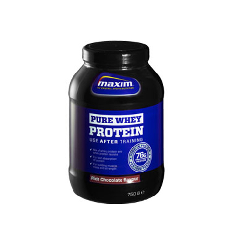 Maxim Pure Whey Protein Chocolate 750gr (Όρος Γάλακτος)