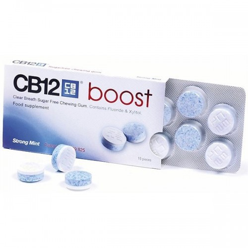 CB12 Boost Gum (Τσίχλα Για Καθαρή & Δροσερή Αναπνοή)