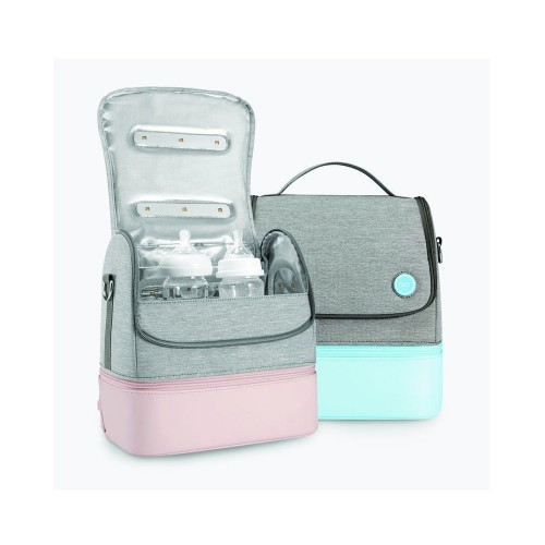 Health Keeper 59S UVC LED Sterilizing Mommy Bag (Δίχωρη Τσάντα Απολύμανσης UVC 17 LED)