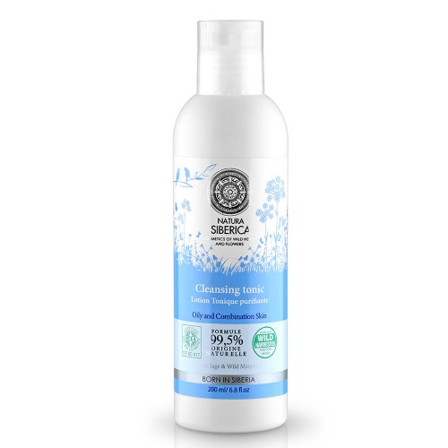 Natura Siberica Cleansing Tonic Oily and Combination Skin 200ml (Τονωτική Λοσιόν για Λιπαρές και Μικτές Επιδερμίδες)