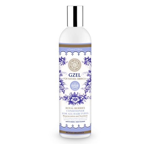 Natura Siberica Gzel Royal Berries Hair Conditioner 400ml (Conditioner για Όλους τους Τύπους)