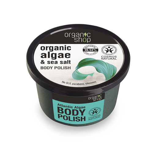Natura Siberica Organic Shop Body Polish Atlantic Algae 250ml (Scrub σώματος, Φύκια Αρκτικής,)