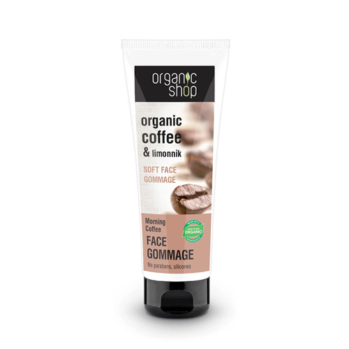 Natura Siberica Organic Shop Morning Coffee 75ml (Απαλό Scrub Προσώπου)