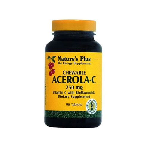 Natures Plus Acerola C Complex 250mg 90tabs (Ανοσοποιητικό)