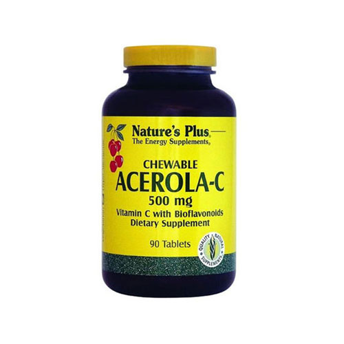 Natures Plus Acerola C Complex 500mg 90tabs (Ανοσοποιητικό)