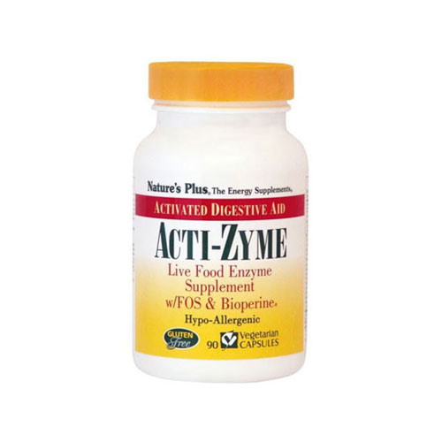 Natures Plus Acti Zyme 90caps (Δυσκοιλιότητα)