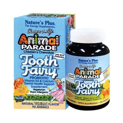 Natures Plus Animal Parade Tooth Fairy 90tab  (Στοματική υγεία των παιδιών)