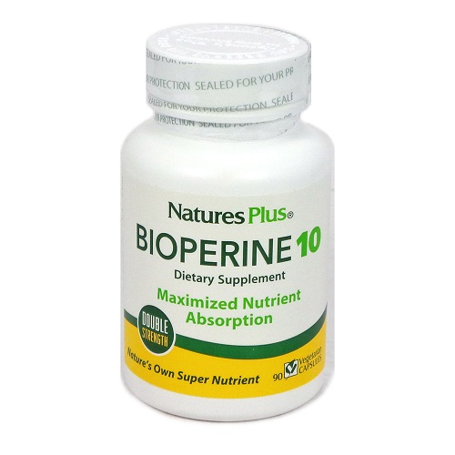 Natures Plus BioPerine 10mg 90caps