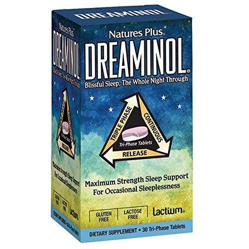 Natures Plus Dreaminol 30tabs (Ύπνος - Αϋπνία)