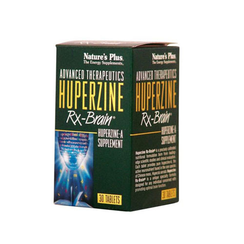 Natures Plus Huperzine Rx Brain 30tab (Μνήμη - Συγκέντρωση)