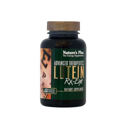 Natures Plus Lutein Rx Eye 60cap (Όραση)