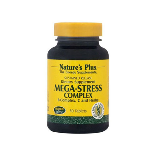 Natures Plus Mega Stress Complex 30 tab (Άγχος - Στρες)