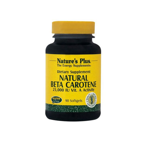 Natures Plus Natural Beta Carotene 90tab (Αντιοξειδωτικό)