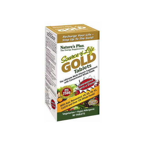 Natures Plus Source Of Life Gold 90tab (Πολυβιταμίνες)