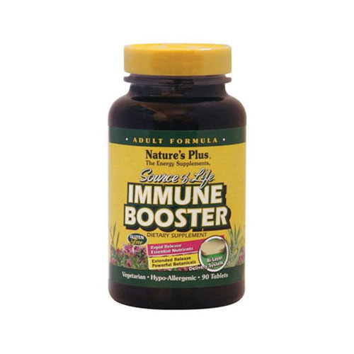Natures Plus Source Of Life Immune Booster 90tab (Ενίσχυση του Ανοσοποιητικού Συστήματος)