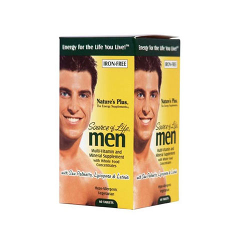 Natures Plus Source Of Life Mens Multivitamin 60tab (Πολυβιταμίνες για Άνδρες)