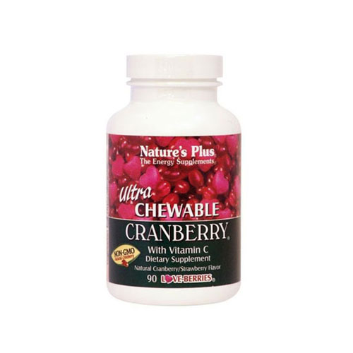 Natures Plus Ultra Cranberry 90 Chewable Tab (Προβλήματα Ουροποιητικού)