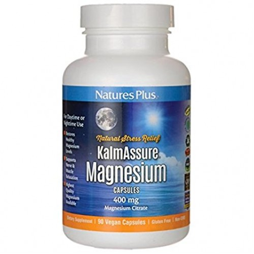 Natures Plus Kalmassure Magnesium 90caps (Άγχος - Στρες)