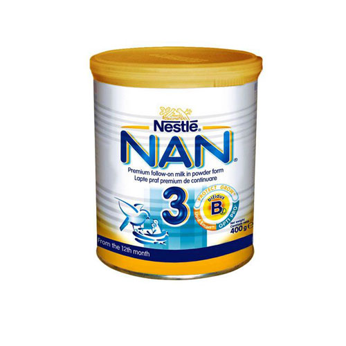 Nestle Nan 3 Milk 400gr