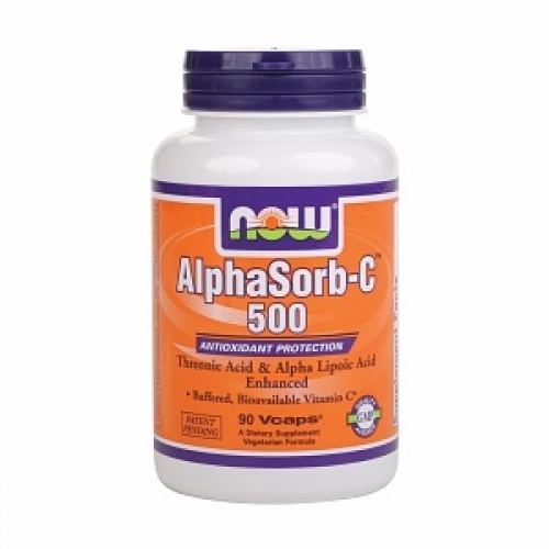 NOW Alphasorb-C 500mg 90vegan caps