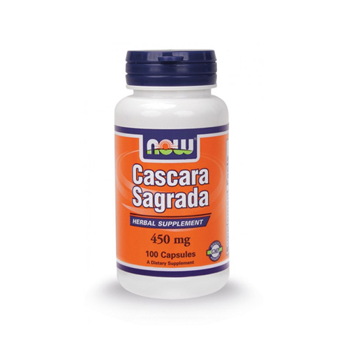 NOW Cascara Sagrada 450mg 100tabs (Καθαρτικό)