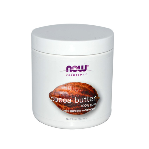 Now Foods Real Food Cocoa Butter 207ml (Αγνό Βούτυρο Κακάο)