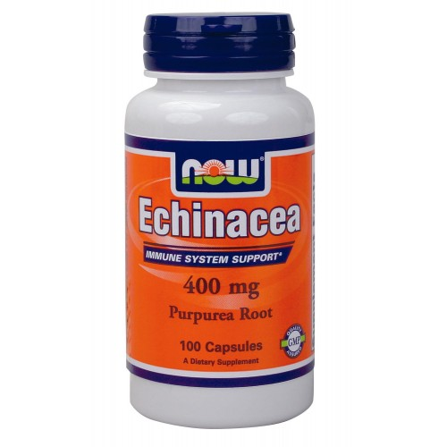 NOW Echinacea Root 400mg 100caps