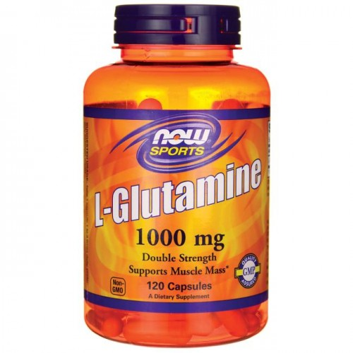 NOW Sports L Glutamine 1000mg 120caps (Αμινοξέα)