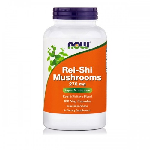 Now Rei-Shi Mushrooms 270mg 100vcaps (Ανοσοποιητικό)