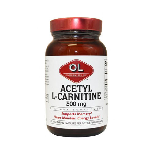 Olympian Labs Acetyl L-Carnitine 500mg 60caps