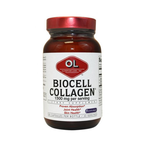 Olympian Labs Biocell Collagen Ii 500mg 100 cap