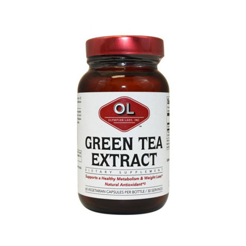 Olympian Labs Green Tea Extract 500mg 60 cap (Απώλεια Βάρους - Αδυνάτισμα)