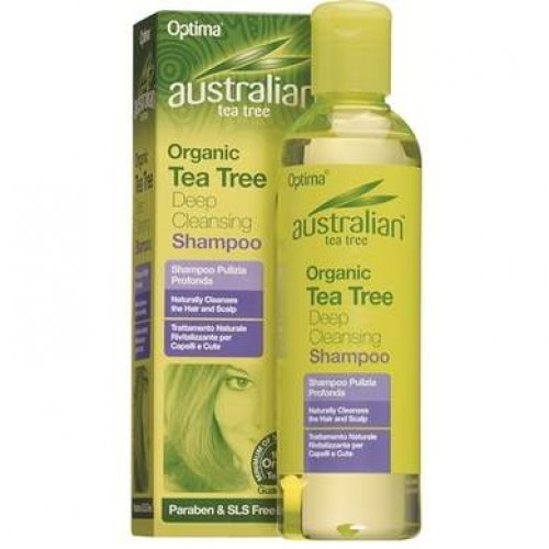 Optima Australian Tea Tree Deep Cleansing Shampoo 250ml