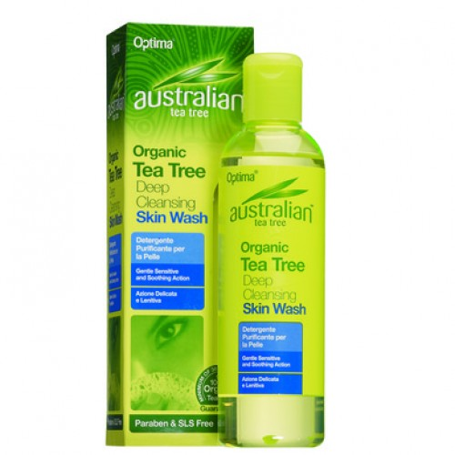 Optima Australian Tea Tree Deep Cleansing Skin Wash 250ml