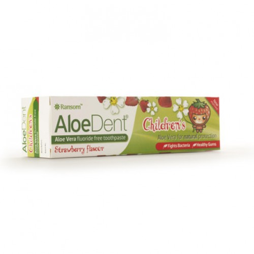 Optima AloeDent Childrens Toothpaste (Γεύση Φράουλα) 50ml