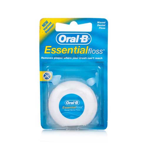 Oral B Dental Floss Waxed 50m (Οδοντικό Νήμα)