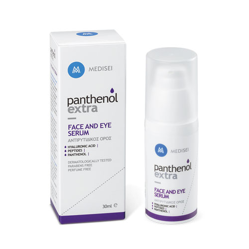 Panthenol Extra Face and Eye Serum 30ml (Αντιρυτιδικός Όρος) & ΔΩΡΟ Panthenol Extra Face & Eye Cream 50ml