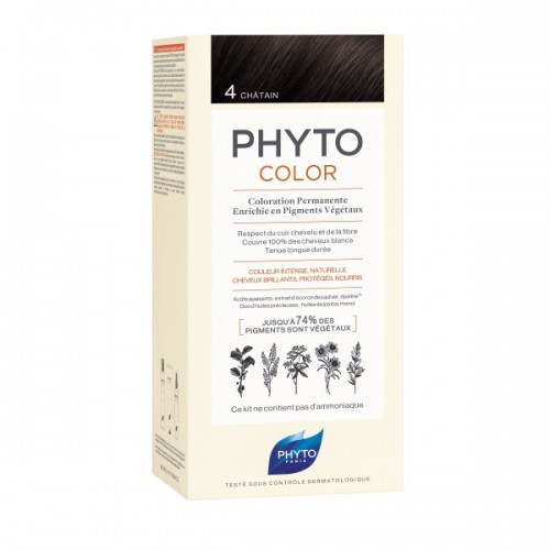Phyto Phytocolor 4 Chatain (Καστανό)