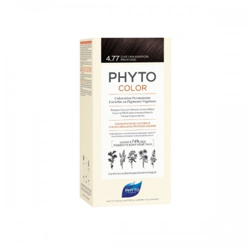 Phyto Phytocolor 4.77 Chatain Marron Profond (Καστανό Έντονο Μαρόν)