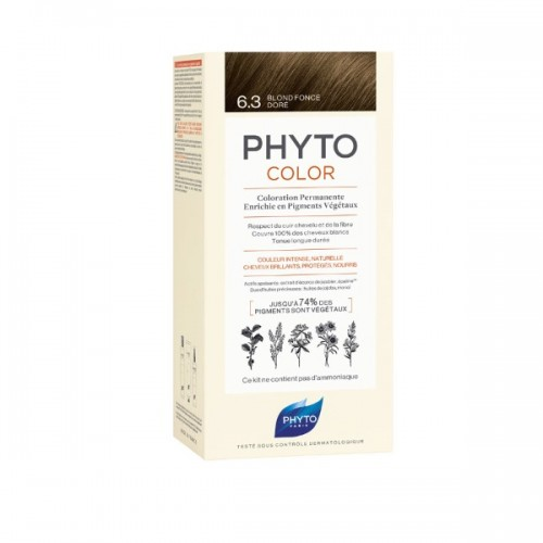 Phyto Phytocolor 6.3 Blond Fonce Dore (Ξανθό Σκούρο – Χρυσό)