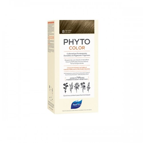 Phyto Phytocolor 8 Blond Clair (Ξανθό Ανοιχτό)