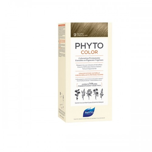 Phyto Phytocolor 9 Blond Tres Clair (Ξανθό Πολύ Ανοιχτό)