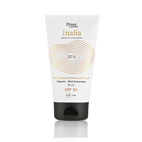 Power Health Inalia Sunscreen Body Rich Cream SPF30 150ml (Αντηλιακή Κρέμα Σώματος SPF30)