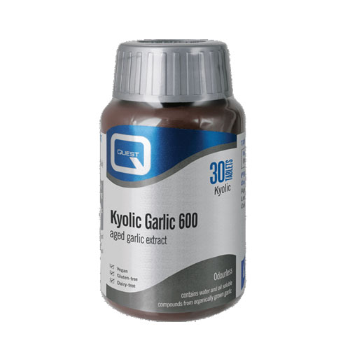 Quest Kyolic Garlic Extract 600mg 30tab