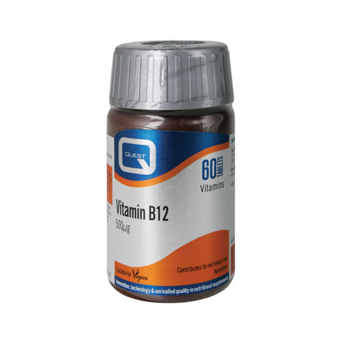 Quest Vitamin B12 500mg 60tab