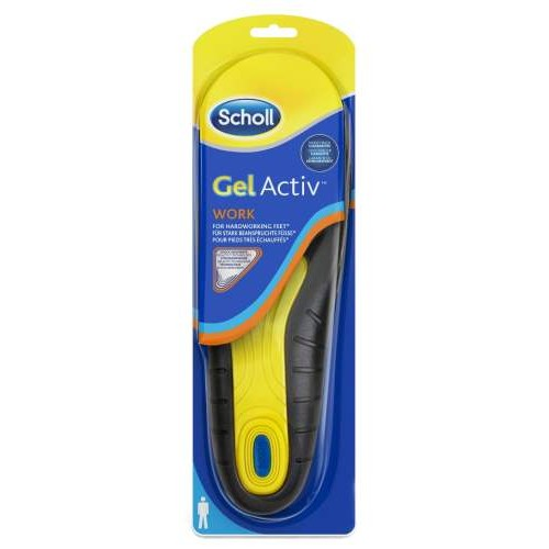 Scholl Gelactiv Insoles Work For Men (Ανδρικοί Πάτοι για την Εργασία)