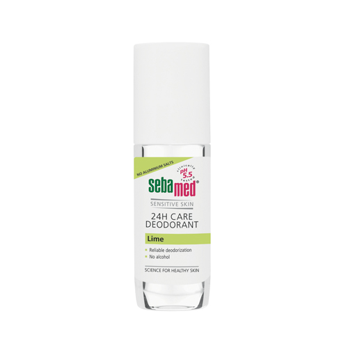 Sebamed Deo Roll On Lime 24-Hour 50ml (Αποσμητικό)