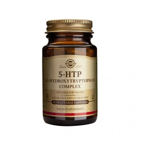 Solgar 5 HTP Hydroxytryptophan 100mg 90 Vegetarian Caps (Αμινοξέα)